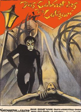 The Cabinet of Dr. Caligari - Starring Werner Krauss and Conrad Veidt by Unknown