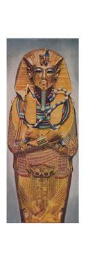 'The Dead Pharoah's Golden Coffin', c1935 by Unknown