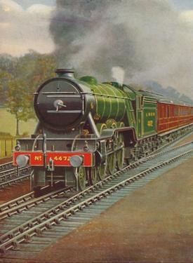 'The Flying Scotsman Passing Hadley Wood, L.N.E.R.', 1926 by Unknown