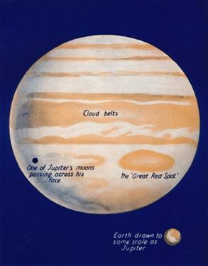 'The Giant Planet and His Great Red Spot', 1935 by Unknown