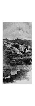 'The Hot Springs near Gardiner's River', 1883 by Unknown
