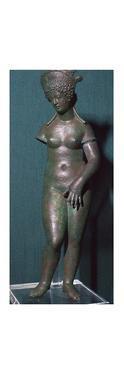 The modest Venus, a Roman bronze statuette, 1st century. Artist: Unknown by Unknown