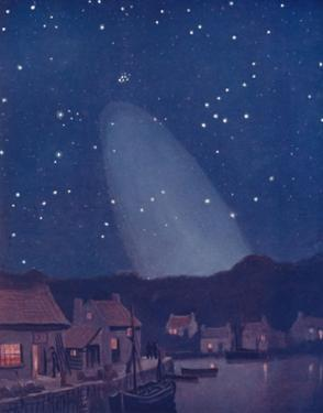 'The Mysterious Cone of the Light in the Sky', 1935 by Unknown