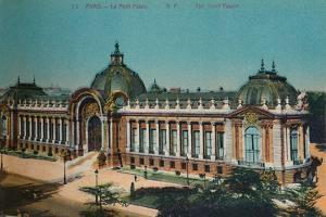 The Petit Palais, Paris, c1920 by Unknown