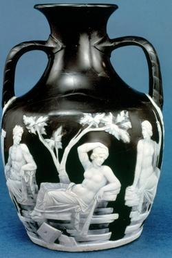 The Portland Vase, c5-25 AD. Artist: Unknown by Unknown