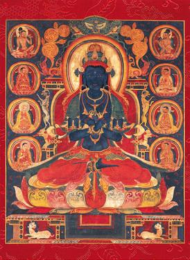 The Primordial Buddha Vajradhara by Unknown