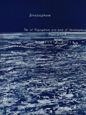 'The Rotundity of the Earth From The Stratosphere', 1935 by Unknown