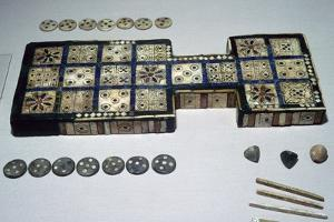 The Royal Game of Ur, from Ur, southern Iraq, c2600-c2400 BC. Artist: Unknown by Unknown