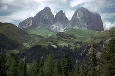 The Sella Pass by Unknown