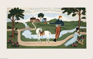 The Valley Farm Road (1810), Elkanah L. Sears and Maria F. Crocker by Unknown