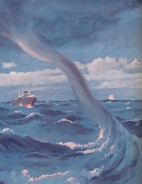 'The Waterspout That Joins Cloud and Sea', 1935 by Unknown