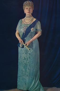 'The Widowed Queen: Her Majesty Queen Mary', 1936 by Unknown