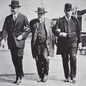 Three American businessmen, 1900s by Unknown