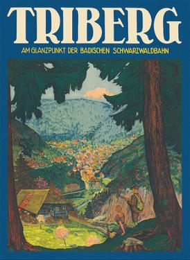 Triberg, Germany - At the Highlight of the Baden Black Forest Railway by Unknown