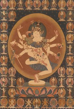 Vajrasattva In The World Of The Deities - by Unknown