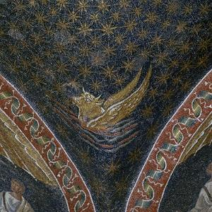 Vault mosaic from the Mausoleum of Galla Placida, 5th century by Unknown