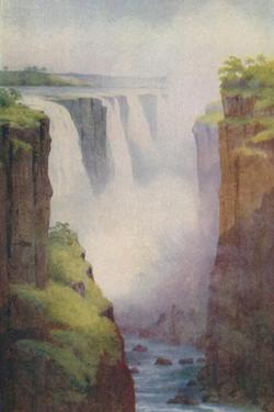 'Victoria Falls', 1924 by Unknown