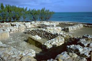 Walls of houses in the Punic town at Kerkovane, 5th century by Unknown