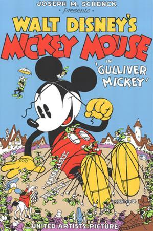 Walt Disney's Mickey Mouse-Gulliver Mickey by Unknown
