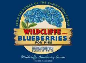 Wildcliffe Blueberries - Kenmore, Washington by Unknown