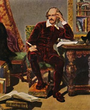 'William Shakespeare 1564-1616. - Gemälde von J. Faed, 1934 by Unknown