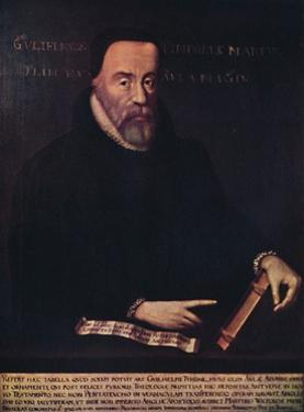 'William Tyndale 1492-1536', c16th century, (1947) by Unknown