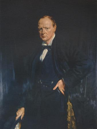 Winston Churchill, c1916, (1941)