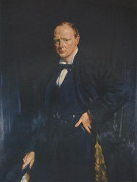 Winston Churchill, c1916, (1941) by Unknown