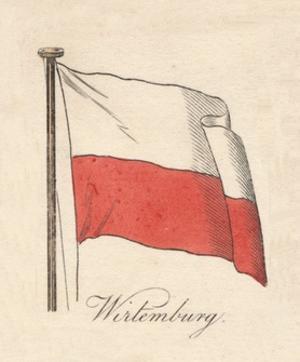 'Wirtemburg', 1838 by Unknown
