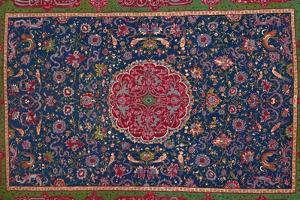 'Woollen Carpet, Enriched with Gold and Silver Thread. Persian; Late 16th Century', 1903 by Unknown