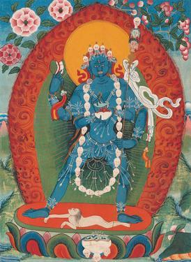 Yamini, The Armor Goddess of the Heart of Vajravarahi by Unknown