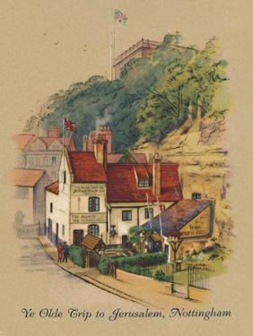 'Ye Olde Trip to Jerusalem, Nottingham', 1939 by Unknown
