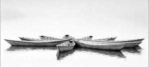 Zen Boats by Unknown