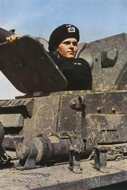 German Tank Commander by Unsere Wehrmacht