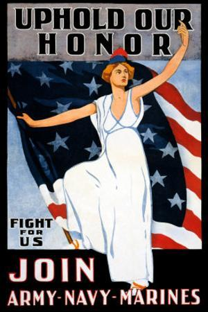 Uphold Our Honor, Join Army, Navy, Marines