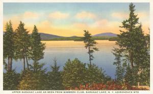 Upper Saranac Lake, New York
