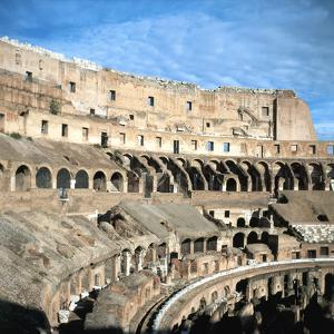 Upper Tiers of the Colosseum, Rome