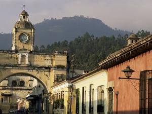 Arch of Santa Catalina, Dating from 1609, Antigua, Unesco World Heritage Site, Guatemala by Upperhall