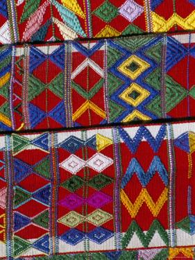 Detail of Local Weaving, Chichicastenango, Guatemala, Central America by Upperhall
