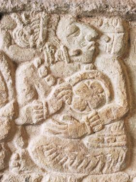 Detail, Structure 9N-82, Copan, Unesco World Heritage Site, Honduras, Central America by Upperhall
