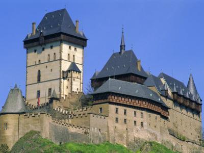 Karlstejn Castle, 14th Century, Near Prague, Czech Republic, Europe by Upperhall Ltd