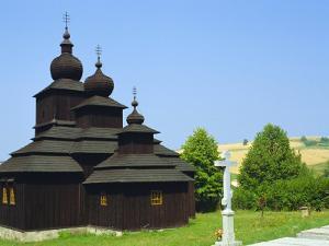 Orthodox Church, Dobroslava, Slovakia, Europe by Upperhall Ltd