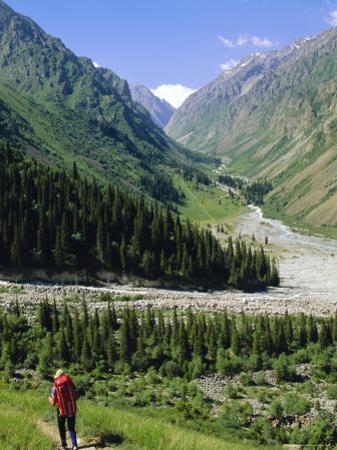 Tien Shan Mountains, Ala Archa Canyon, Kyrgyzstan, Central Asia by Upperhall Ltd