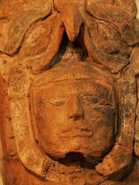 Mayan Funerary Urn, Popol Vuh Museum, Guatemala City, Guatemala, Central America by Upperhall