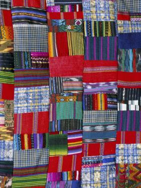Patchwork Quilt, San Antonio Aguas Calientes, Guatemala, Central America by Upperhall