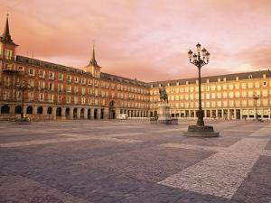 Plaza Mayor from the East, Madrid, Spain by Upperhall