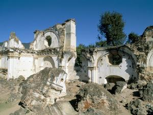 Ruins of the Church of La Recoleccion, Destroyed by Earthquake in 1715, Antigua, Guatemala by Upperhall