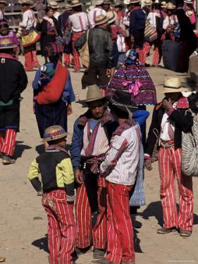 Saturday, the Weekly Market, Todos Santos, Guatemala, Central America by Upperhall