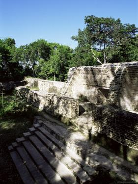 Structure 1, Cahal Pech, Belize, Central America by Upperhall