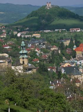 View Over the Town, Banska Stiavnica, Unesco World Heritage Site, Slovakia by Upperhall